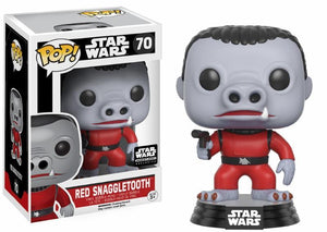 Funko POP! Star Wars: Red Snaggletooth (Smuggler's Bounty)