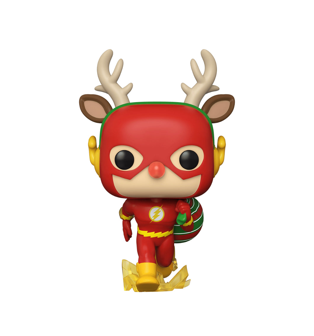 Funko POP! Heroes: DC Super Heroes - The Flash (Holiday Dash)