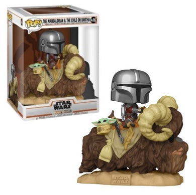 Funko POP! Star Wars: Mandalorian & The Child On Bantha