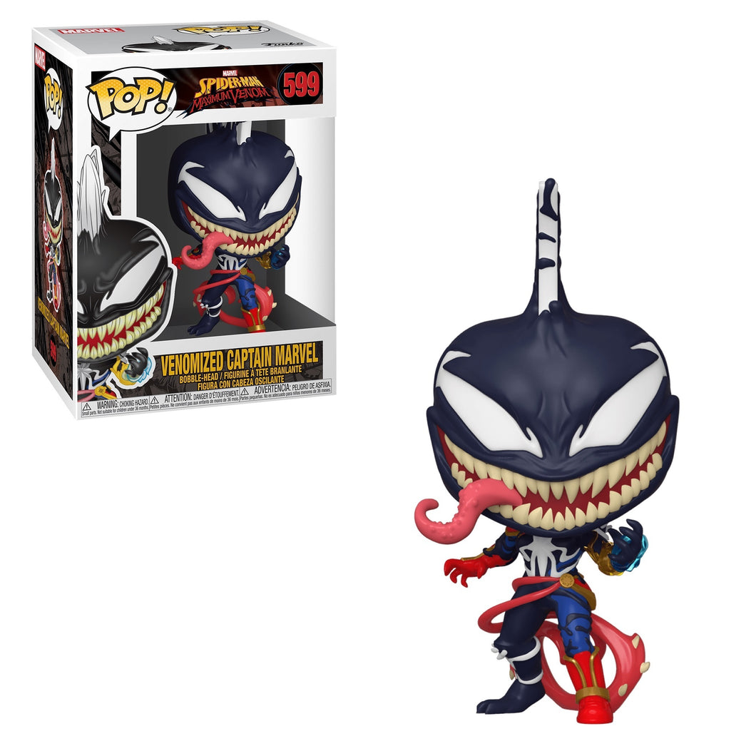 Funko POP! Marvel: Venom - Venomized Captain Marvel