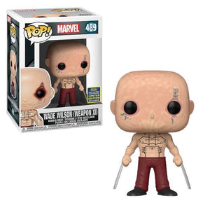 Funko POP! Marvel: Wade Wilson(Weapon X)(SDCC20/Shared)