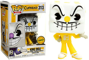 Funko POP! Games: Cuphead - King Dice (CHASE)