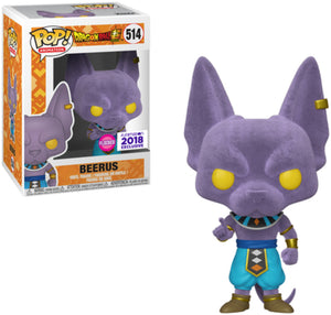 Funko POP! Animation: Dragon Ball Z - Beerus (Flocked) (Funimation)