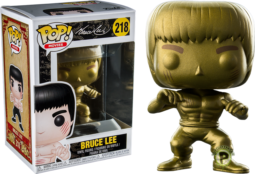 Funko POP! Movies: Bruce Lee - Enter The Dragon Gold (Bait)