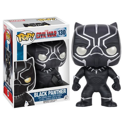 Funko POP! Captain America Civil War - Black Panther
