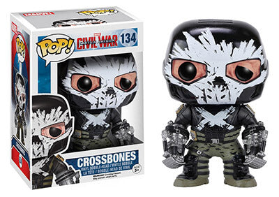 Funko POP! Marvel Captain America Civil War Crossbones