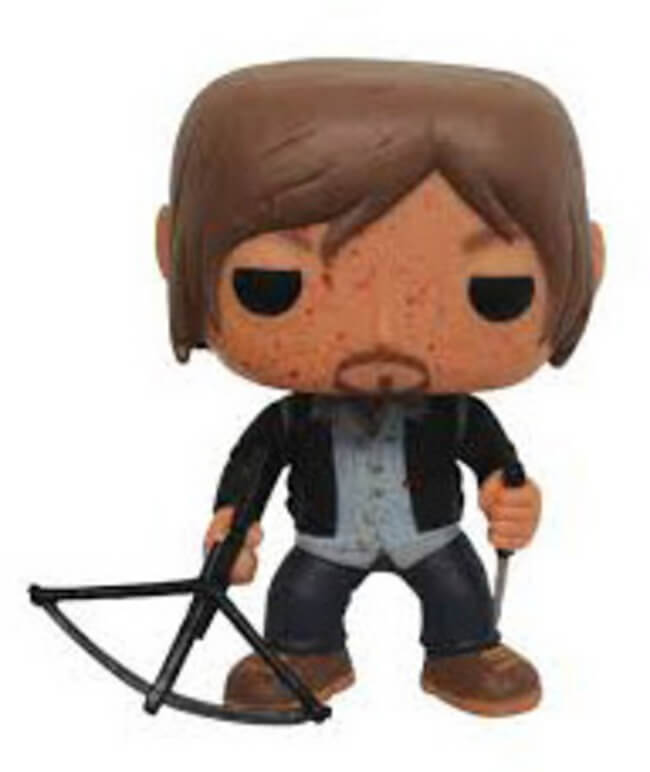 Funko POP! Television: The Walking Dead - Biker Daryl (PX Preview)