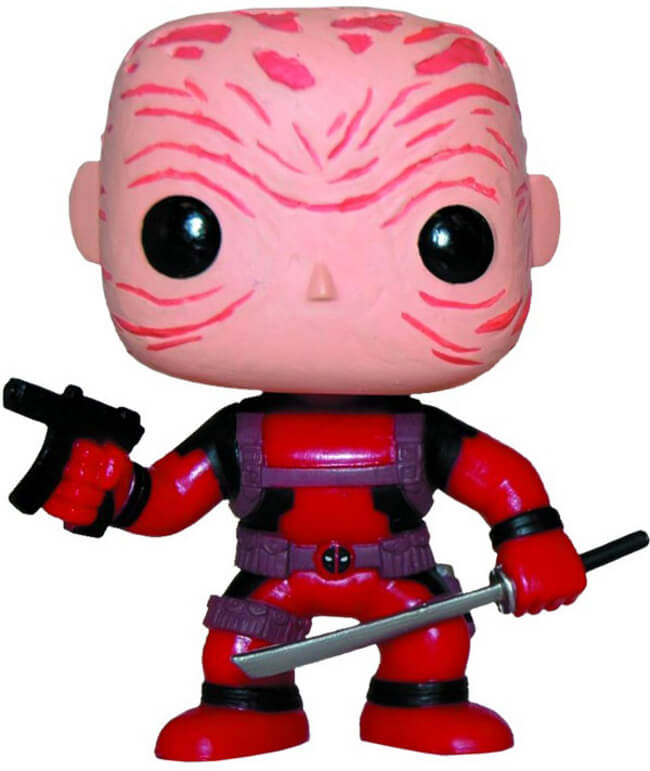 Funko POP! Marvel: Deadpool (Unmasked/Red)(PX Previews)