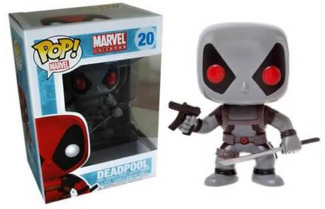 Funko POP! Marvel: Marvel Universe - Deadpool (Hot Topic)