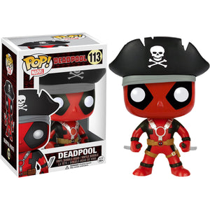 Funko POP! Marvel: Deadpool - Pirate (Hot Topic)
