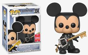Funko POP! Kingdon Hearts: Organization 13 Mickey (SDCC/Shared)