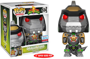 Funko POP! Television: Power Rangers - Dragonzord (2017 Fall Convention)