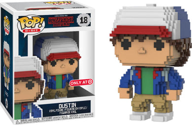 Funko POP! 8-Bit: Stranger Things - Dustin (Target)