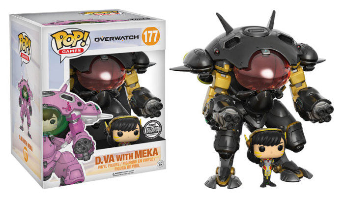 Funko POP! Games: Overwatch-D.VA with Meka (Blizzard)