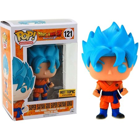 Funko POP! Animation: Dragon Ball Z - Super Saiyan God Super Saiyan Goku (Hot Topic)