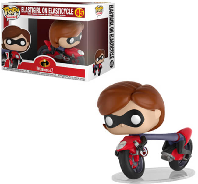 Funko POP! Rides: Incredibles 2 - Elastigirl on Elasticycle