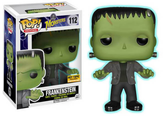 Funko POP! Movies: Monsters - Frankenstein (Hot Topic)