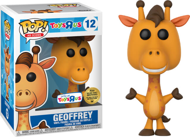 Funko POP! Ad Icons: Geoffrey (Golden Ticket)