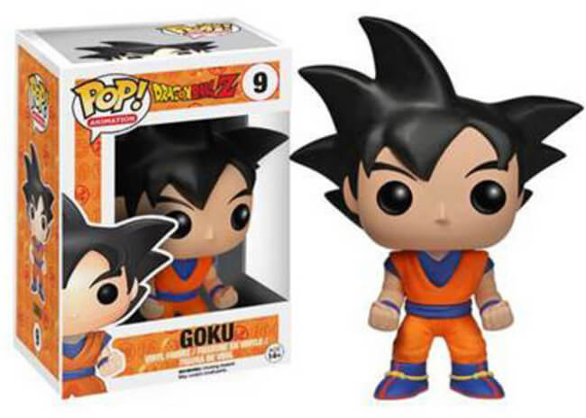 Funko POP! Animation: Dragon Ball Z - Goku (Hot Topic)