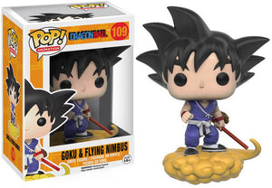 Funko POP! Animation: Dragon Ball - Goku & Flying Nimbus