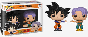 Funko POP! Animation: Dragon Ball Z - Goten & Trunks 2-Pack (Funimation)