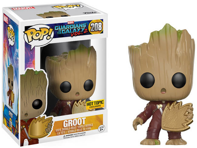 Funko POP! Guardians of The Galaxy 2 - Groot Jumpsuit Patch (Hot Topic)