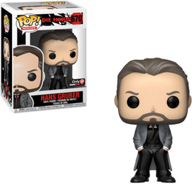 Funko POP! Movies: Die Hard - Hans Gruber (GameStop)
