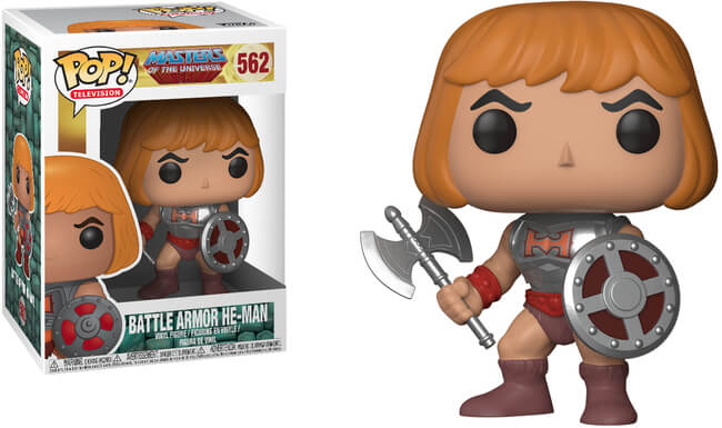 Funko POP! Television: Masters of The Universe - Battle Armor He-man