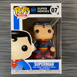 Funko POP! Heroes: DC Super Heroes - Superman [Black Box]