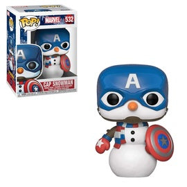 Funko POP! Marvel: Cap Snowman