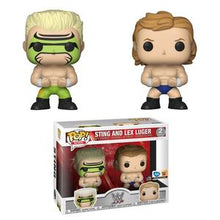 Load image into Gallery viewer, Funko POP! WWE: Sting & Lex Luger (FYE)