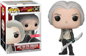 Funko POP! Marvel: Ant-Man and The Wasp - Janet Van Dyne Unmasked (Target)