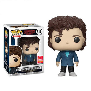 Funko POP! Television: Stranger Things-Dustin Snowball Dance (SDCC/Shared)