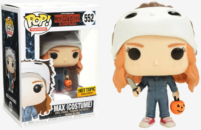 Funko POP! Television: Stranger Things - Max Costume (Hot Topic)