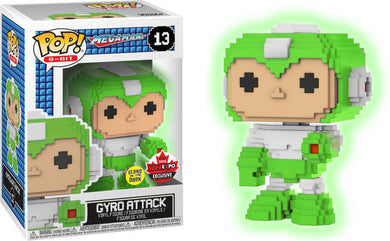 Funko POP! 8-Bit: Megaman - Gyro Attack (Canadian Convention)