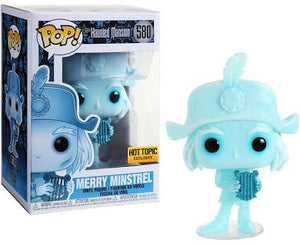 Funko POP! Disney: Haunted Mansion - Merry Minstrel (Harp Guy) (Hot Topic)