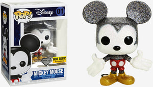 Funko POP! Disney: Mickey Mouse (Diamond Collection) (Hot Topic)