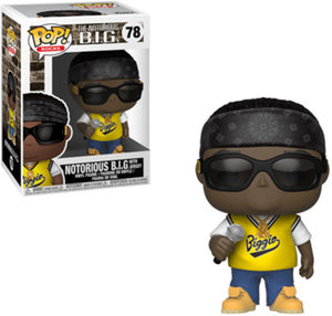 Funko POP! Rocks: The Notorious B.I.G. - The Notorious B.I.G w/ Jersey