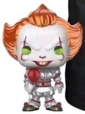 Funko POP! Movies: IT - Pennywise w/ Balloon (Hot Topic)