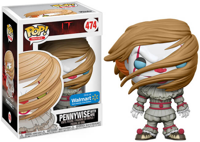 Funko POP! Movies: IT - Pennywise w/ Wig (Walmart)