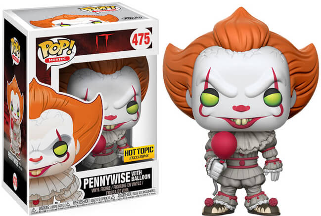 Funko POP! Movies: IT - Pennywise w/ Baloon (Hot Topic)