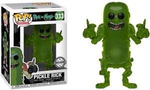 Funko POP! Animation: Rick And Morty - Pickle Rick (FYE)