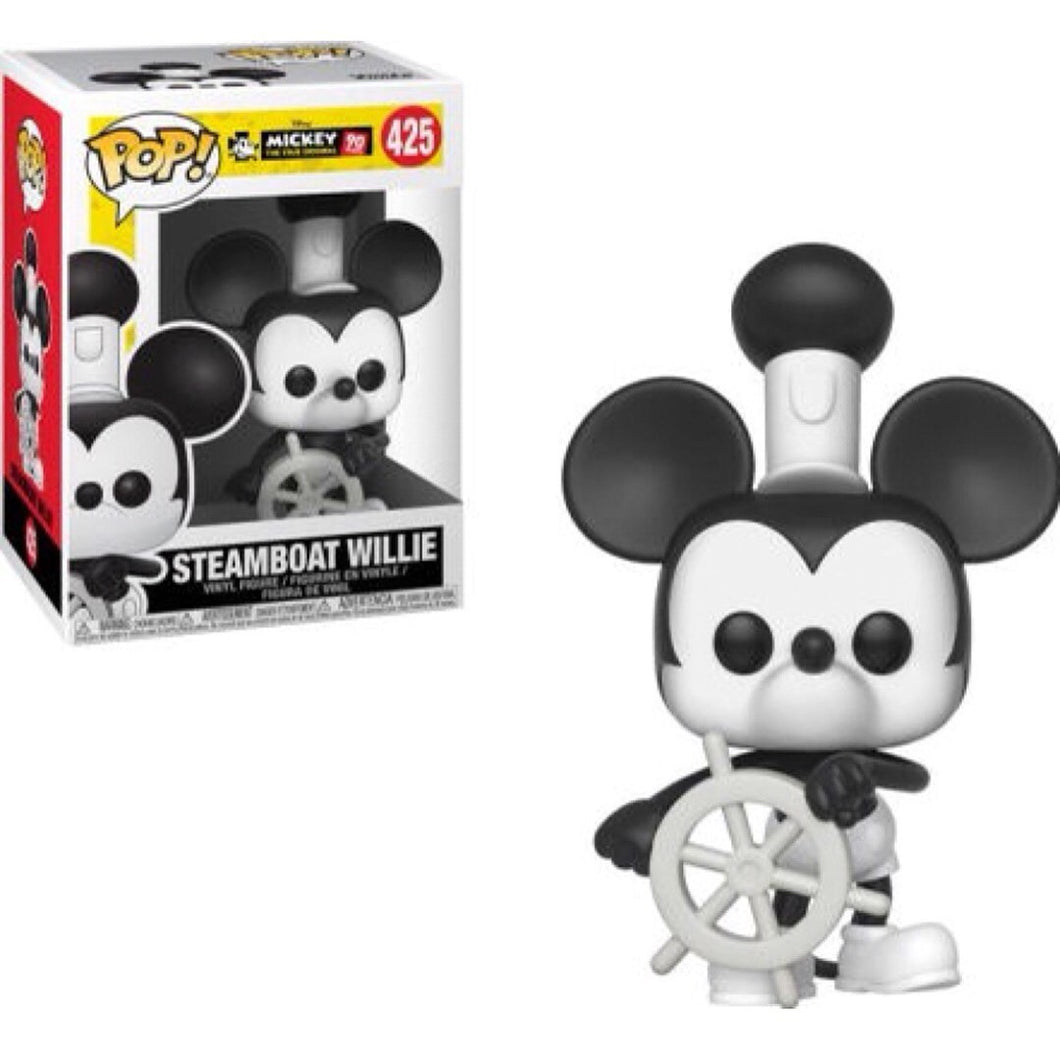 Funko POP! Mickey The True Original: Steamboat Willie