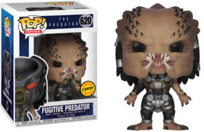 Funko POP! Movies: The Predator - Fugitive Unmasked Chase (CHASE)