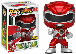 Funko POP! Television: Might Morphin Power Rangers - Red Ranger (Hot Topic)