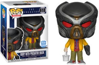 Funko POP! Movies: The Predator - Rory w/ Predator Mask (Funko)