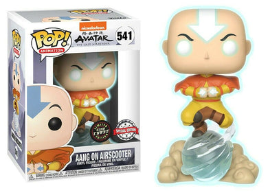 Funko POP! Animation: Avatar The Last Air Bender - Aang On Airscooter (CHASE)(GITD)(Special Edition)
