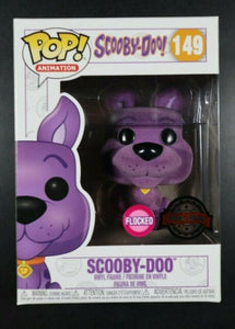Funko POP! Animation: Scooby-Doo (Flocked)( Special Edition Sticker)