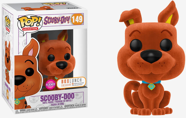 Funko POP! Animation: Scooby Doo - Scooby Doo (Flocked) (Box Lunch)