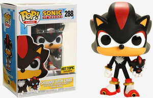 Funko POP! Games: Sonic The Hedgehog - Sonic with Chao (Hot Topic)